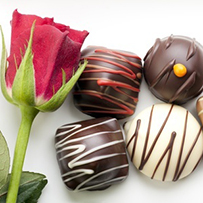 Chocolates and Flowers